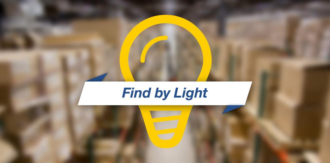 Find by light Sistema di localizzazione RFID banner