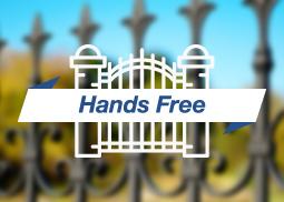 RFID Hands free Sistema di controllo accessi e apertura cancelli