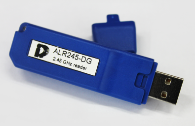 ALR245DG lettore RDID tag attivi USB
