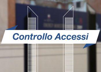Controllo accessi con sistema RFID: IDnova Slim Gate cover