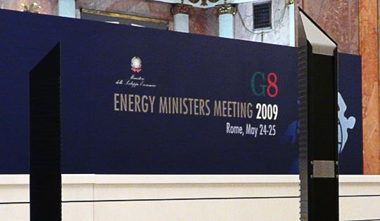 Controllo Accessi RFID al G8 del 2009