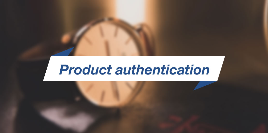 RFID Product authentication