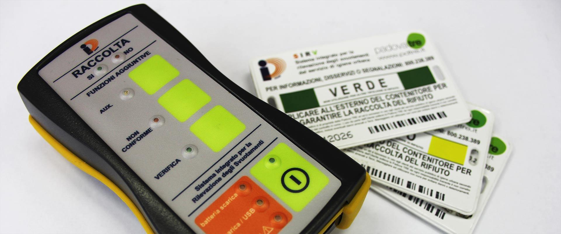 RFID Sistema gestione rifiuti