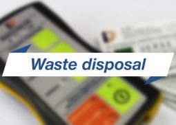 Waste disposal RFID System