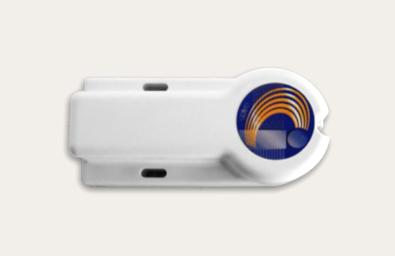 ABG245R-AP tag RFID attivi con Air Programming - 2.45 GHz