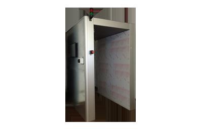 Tunnel UHF per lavanderie