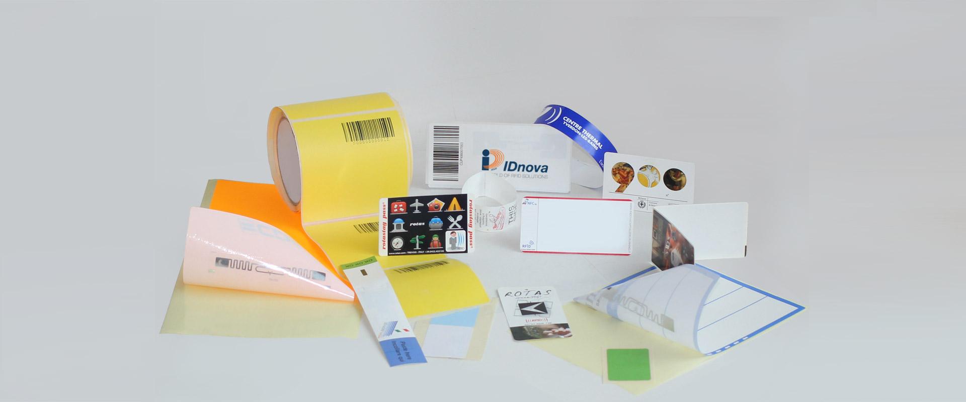 Etichette RFID panoramica