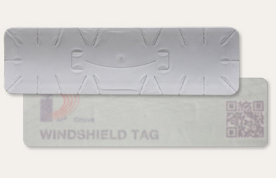 WINDSHIELD tag RFID parabrezza