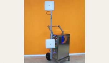 Armored Trolley carrello lettore RFID UHF grey