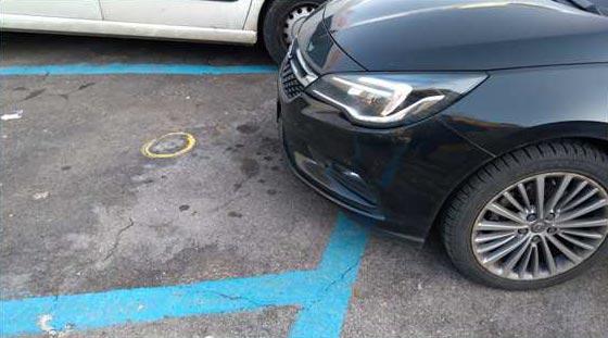 IDnova-Smart-Parking-installato